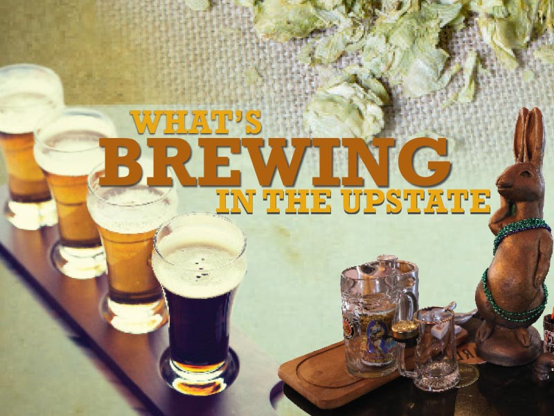 What's Brewing in the Upstate in the A Look at Greenville guide book